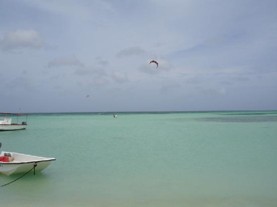 Villa Punta Salina: Palm Beach at a walking distance