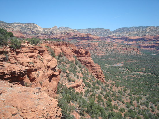 Sedona, AZ: View from atop Doe Mt