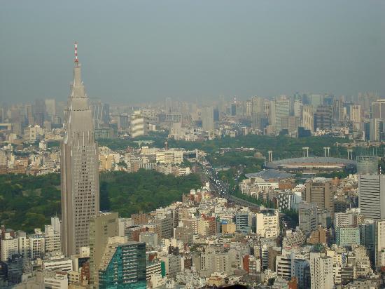 Park Hyatt Tokyo: View from New York Bar
