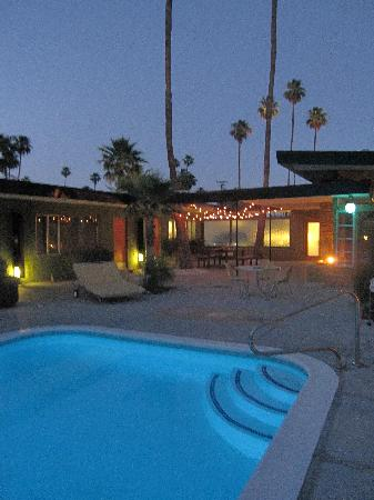 The Desert Star: pool night