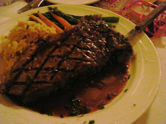 Calamigos Guest Ranch: steak!