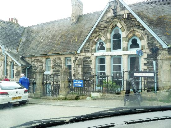 Front View Of The Old School Hotel Port Isaac Cornwall