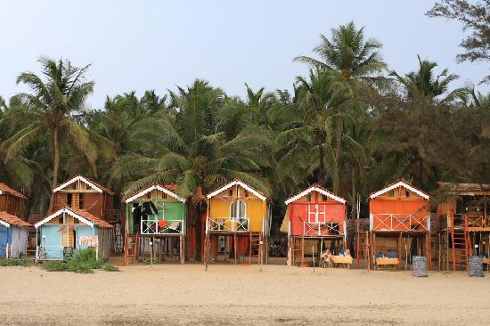Romance Beach Huts View Of The From