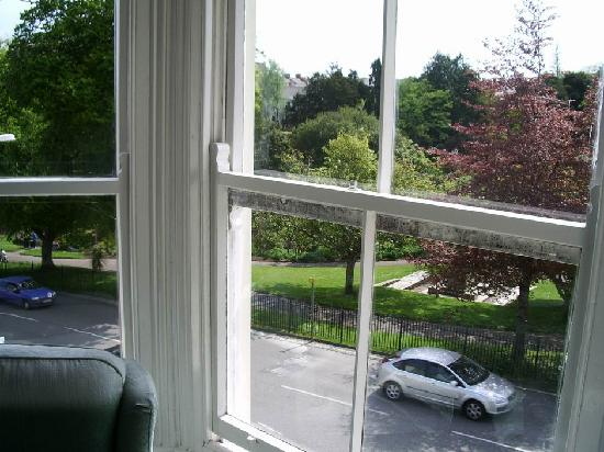 Park Grove Hotel - Falmouth: View over Kimberley Park from Room #11