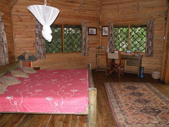Jacana Safari Lodge: king sized room