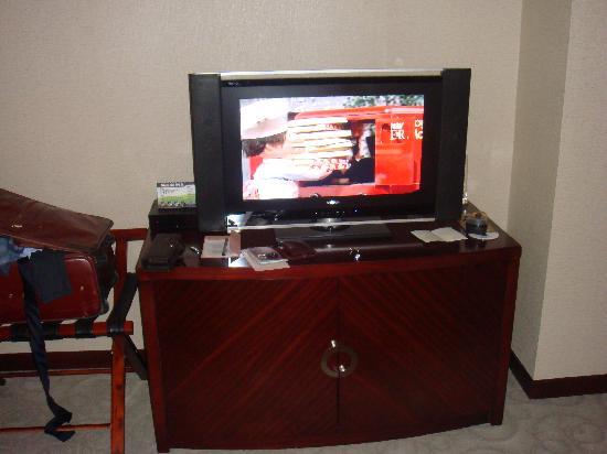 Xin Da Di Hotel: Widescreen TV