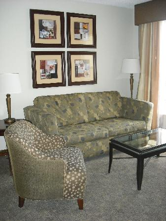 Homewood Suites by Hilton Orlando - UCF Area: Living Area