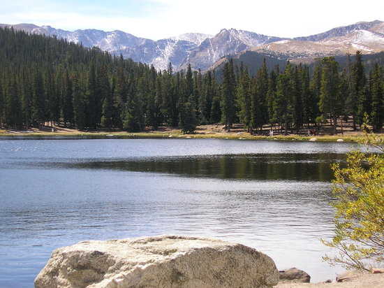 Mount Evans Scenic Byway: Echo Lake
