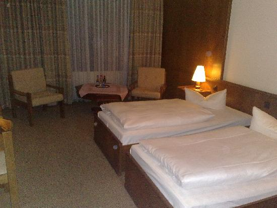 Hotel Regina: The rooms are clean but somewhat tired and drab.