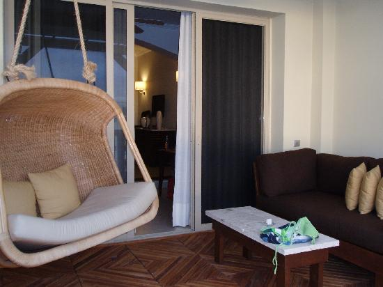 Iberostar Grand Hotel Rose Hall: Patio Hammock