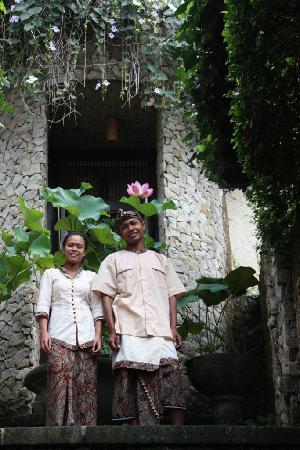 Villa di Abing: Made & Gede