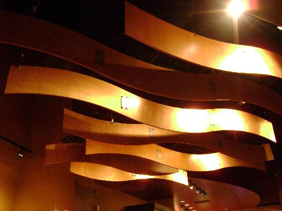 Noodles & Company : The Wood Ceiling Art at Noodles & Co.