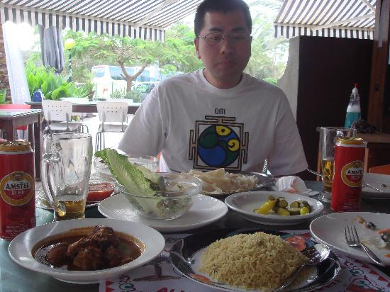 Ali Baba Restaurant : 料理