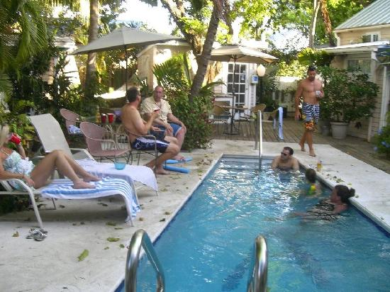 Happy Hour At The Pool Picture Of Andrews Inn And Garden