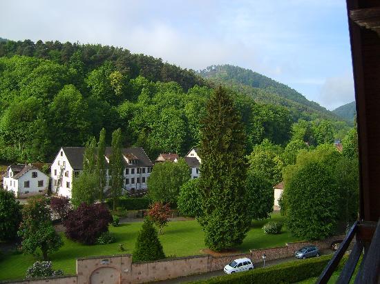 Klingenthal, France: Vue de la terrasse