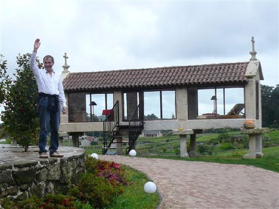 Hotel Quinta de San Amaro: un saluto dall'horreos!