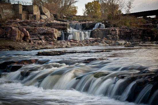 Sioux Falls, SD: Mid-Level of the Falls