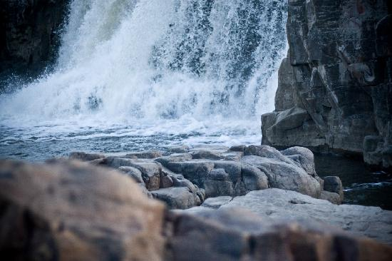 Sioux Falls, Южная Дакота: One of the larger Falls