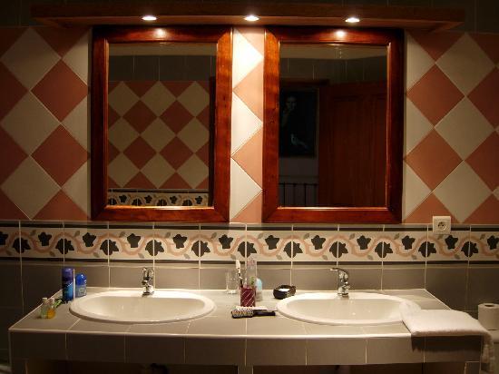 Domaine du Grand Malherbes : Salle de bain