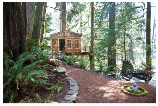 Treehouse Point: the cascadia