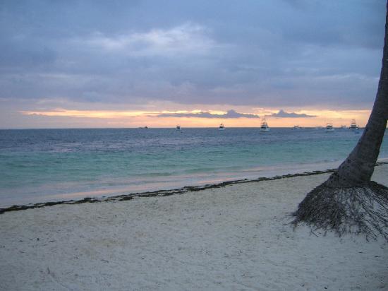 Dreams Palm Beach Punta Cana: sunrise