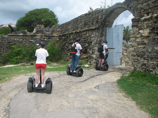Segway Antigua Tours : One of the place we stopped!