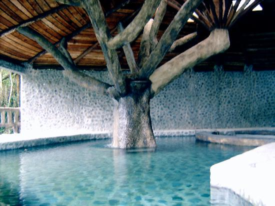 El Castillo, Costa Rica: the hot water pool