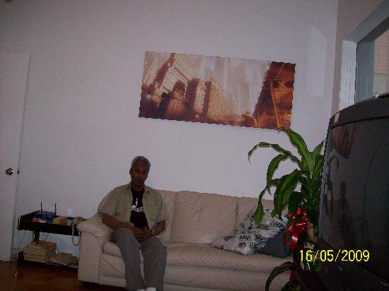 Auberge L'Apero: Living area