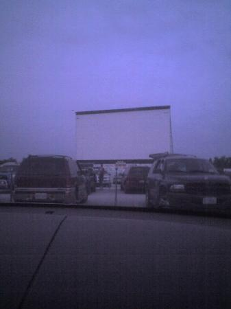 66 Drive-In Theatre: Drive in before starting.....