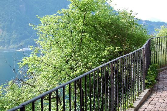 Hotel Elvezia al Lago: The walking way