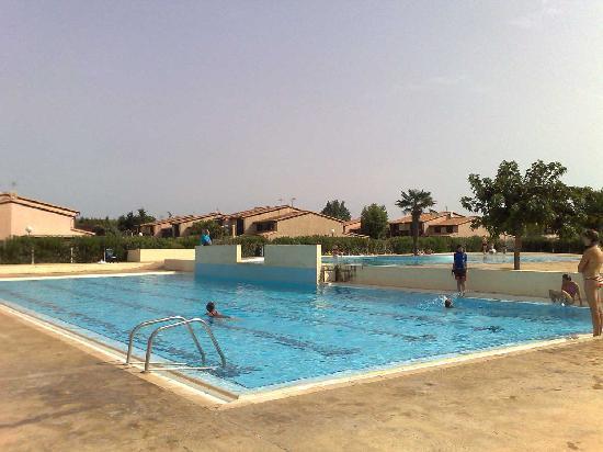 Portiragnes, Francia: Other pool complex - quieter
