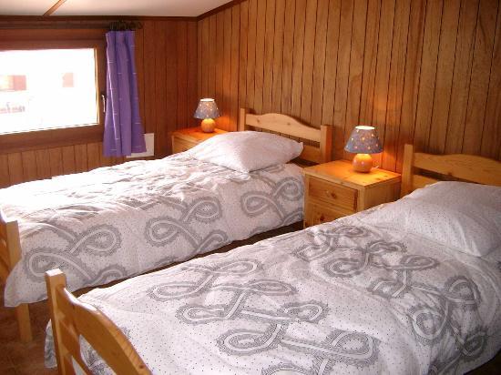 Portiragnes, Francia: twin bedroom