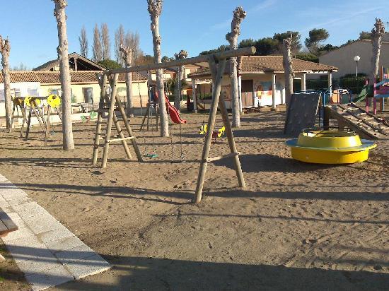 Portiragnes, Francia: Play area