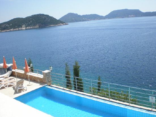 Hotel Bozica: view from our room