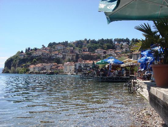 Lake Ohrid: Lake Side Restaurants
