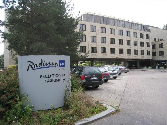Radisson Blu Hotel, Espoo: 豪華な感じではありません