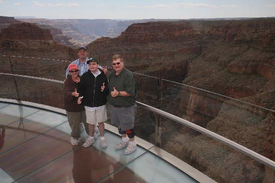 Grand Canyon West: Skywalk Is Definitely Thumbs Up