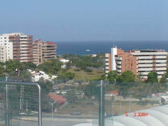 LIDOTEL Hotel Boutique Margarita: Vista desde la piscina