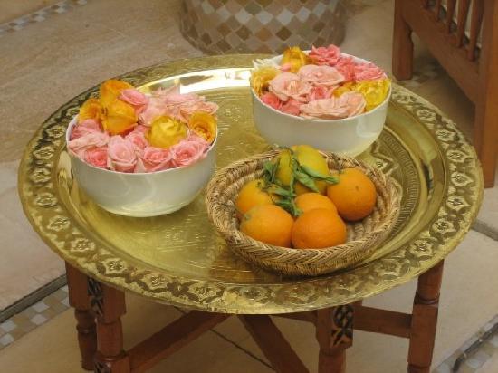 Riad Azoulay : rose e arance