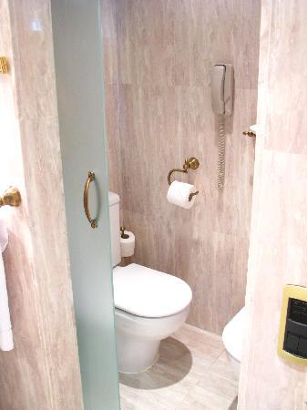 Gran Melia Don Pepe: The toilet