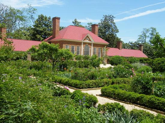 Mount Vernon, Wirginia: Gardens