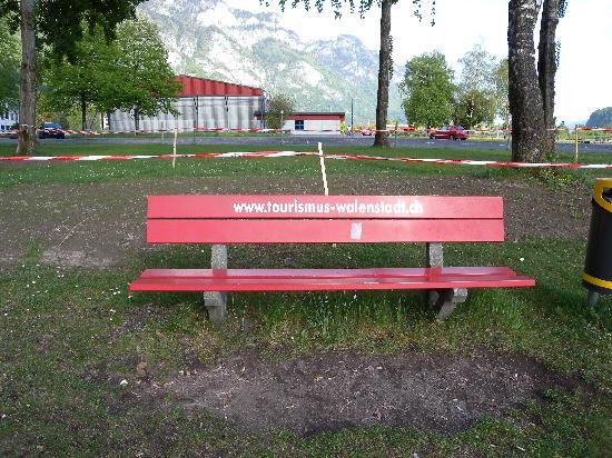Walenstadt, Sveits: Lake area