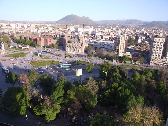 Hilton Kayseri: the view of the city from the room