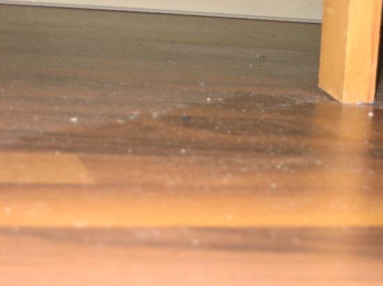 Hotel Einig: Der saubere Boden.