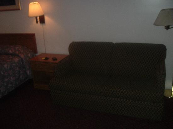San Jose Lodge: standard room - sofa