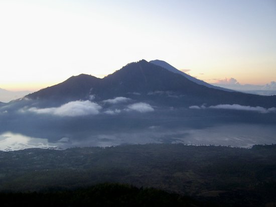 Kuta, Indonesia: view from gunung batur