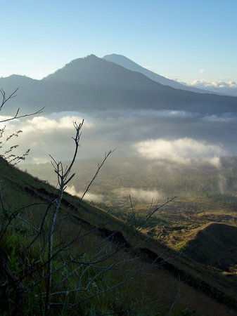 Kuta, Indonesia: view from batur 2