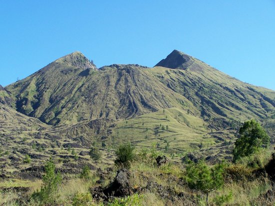 Kuta, Indonesia: gunung batur