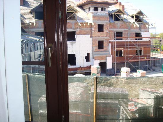 Hotel Zubrowka: la camera con la vista al cantiere