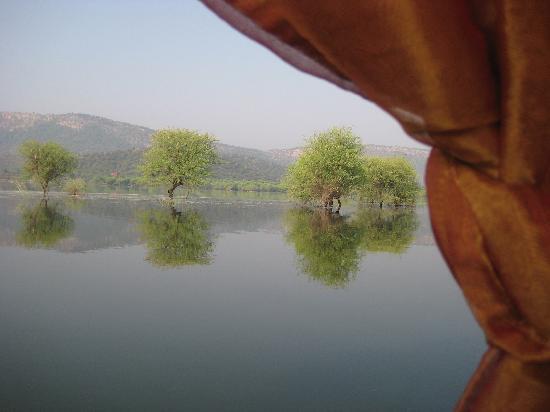 Amanbagh Resort: Lake excursion